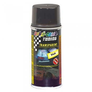 Dupli-Color Transparent Lack Spray SCHWARZ 150ml (Rückleuchtentönungs-Spray)