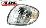 Klarglas Chrome Frontblinker LINKS Toyota Corolla E11 (Facelift)