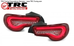 LED Klarglas Rückleuchten Toyota GT86 / Subaru BRZ (Red Version) SPEC2