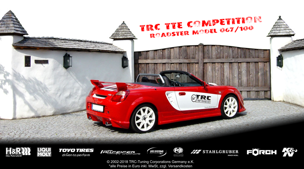 TRC-Tuning TOYOTA MR-S ZZW30 TTE Roadster