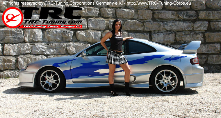 Trc tuning corporations germany e k toyota lexus mazda tuning developments trc gt