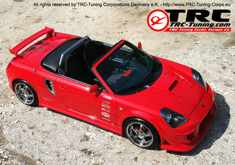 TRC-Tuning Toyota MR-2 W3 Roadster