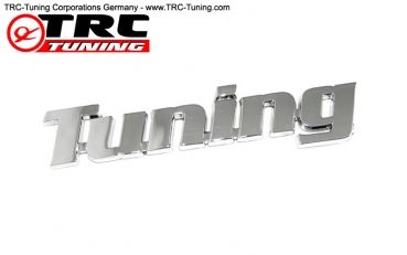 "Emblem Logo Chrome ""Tuning"""