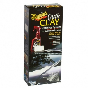 Meguiars Quick Clay Detailing System Starter Kit 473ml & 50g Clay Bar