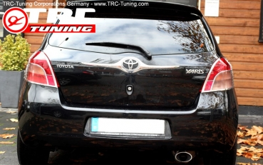 CHROME Rückleuchten Blenden Toyota Yaris XP9 (Vor-Facelift)