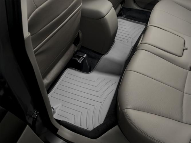 Black WeatherTech Custom Fit Rear FloorLiner for Subaru Impreza//Forester