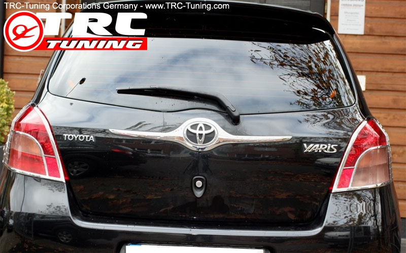 CHROME Blende Heckklappe Toyota Yaris XP9