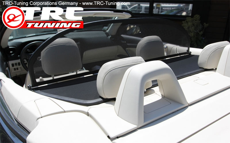 Windstop 2009 Onwards Wind Deflector for Lexus is 250C with Quick Release Fastener - Foldable Black Wind Blocker