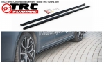 Side Skirts Cover Set Cup-Style Toyota Corolla E21 (Sedan) (Black Molet)