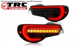 LED Sequential Clear Tailights Toyota GT86 / Subaru BRZ (Smoked Version) SPEC4