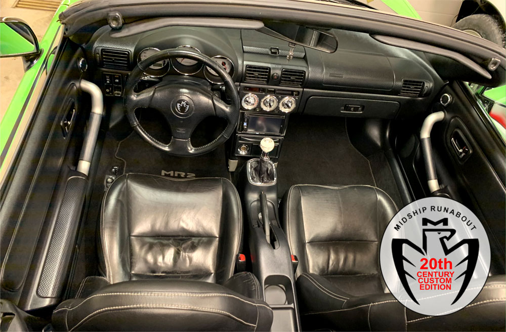 TRC Toyota MR-2 W3 Roadster Interior Parts Sale