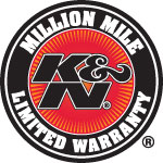 K&N Filters Million Mile Warranty