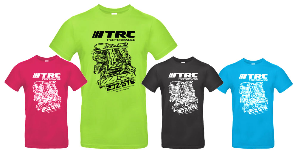 TRC T-Shirts 2JZ-GTE Edition
